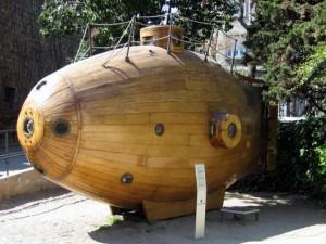 «Иктинео»: паровая подводная лодка!