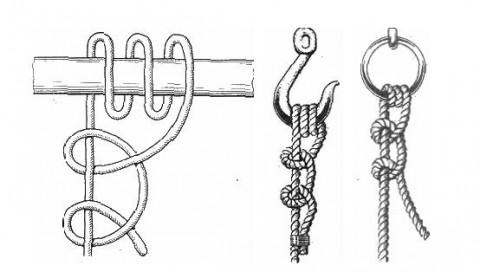 Морские узлы.