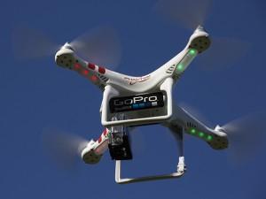 Обзор использования квадрокоптера DJI Phantom с камерами GoPro