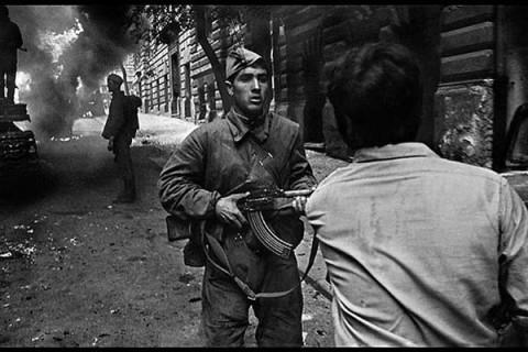 Пражская весна. Образцы техники, использовавшиеся в Советской Армии в 1968-м