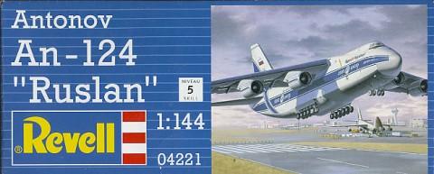 Модель тяжелого транспортного самолета Антонов АН-124 «Руслан»
