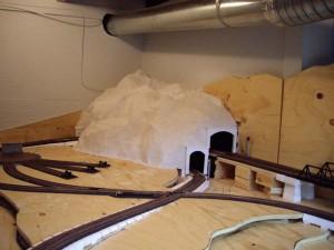 Горные тоннели на железнодорожном макете. Часть I