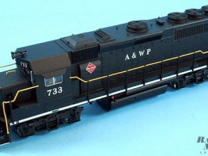 Обзор модели локомотива Atlas GP40-2 H0.