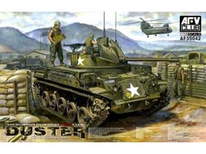 Американский «Распылитель» обзор M42 Duster(V.N.) War от AFV Club.