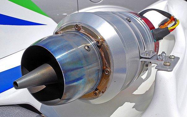 Модель турбореактивного двигателя своими руками 28