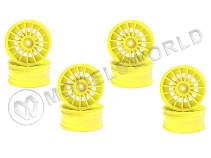 Aero 24 Wheel15-Spoke/Fluorescence Yellow
