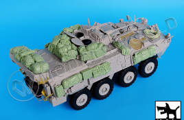 Canadian Lav III accessories set for Trumpeter 1:35.