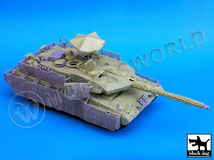LEOPARD 2A6M CAN BARRACUDA for Trumpeter 1:35.