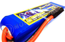 Аккумулятор Giant Power Li-Po 7.4V, 7600mAh, 35C