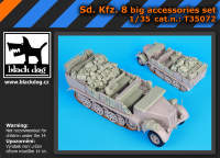 Sd.Kfz 8 big accessories set for Trumpeter 1:35.