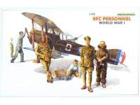 Фигуры RFC Personnel WWI. Масштаб 1:48