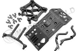 SKID PLATE/BODY MOUNT/SHOCK TOWER SET
