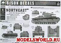 Деколь North by Northwest - z.b.V. 40 in Norway 1940. Масштаб 1:35