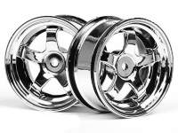 WORK MEISTER S1 WHEEL 26mm CHROME (3mm OFFSET)