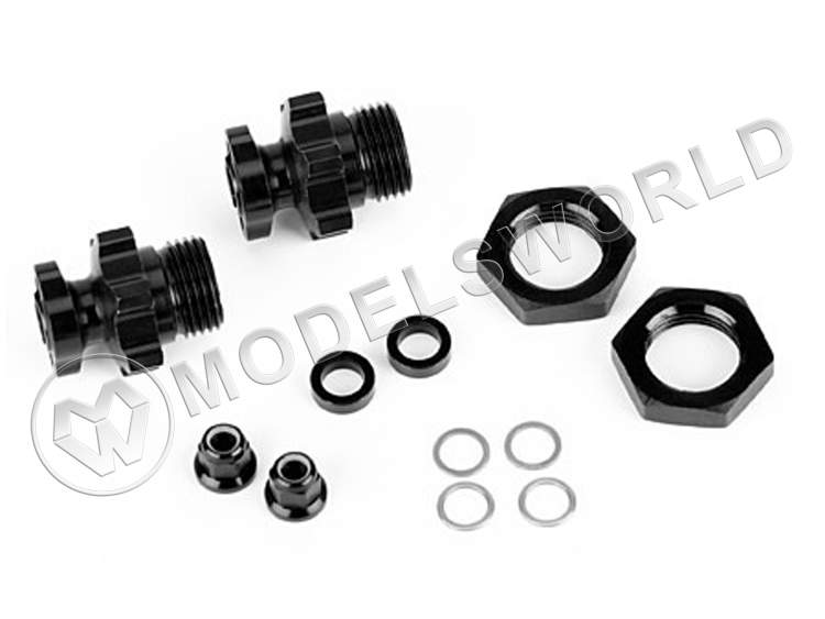 Front or Rear 17mm Wheel Adapters: SLH2WD, SLH 4x4