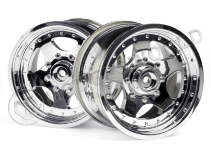 AR-5WHEEL CHROME (83x56 mm/2pcs)