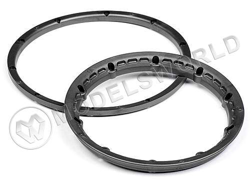 HEAVY DUTY WHEEL BEAD LOCK RINGS (Gunmetal)