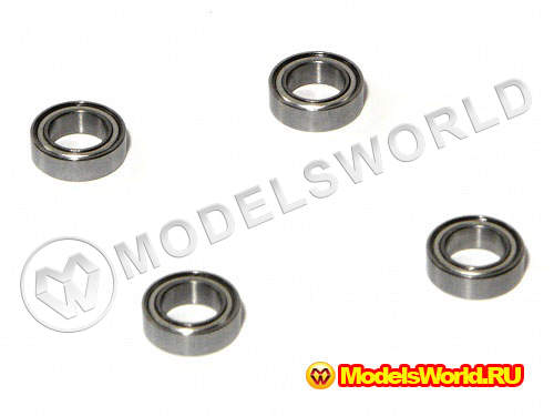 STEERING UPGRADE SET (6x10x3mm BALL BEARING/4pcs)