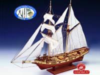 Набор для постройки модели корабля ALBATROS балтиморская шхуна. Масштаб 1:55