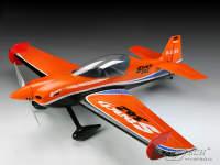 Радиоуправляемая модель самолета Sbach 342 500 class полный комплект с б/к двигателем, оранжевый