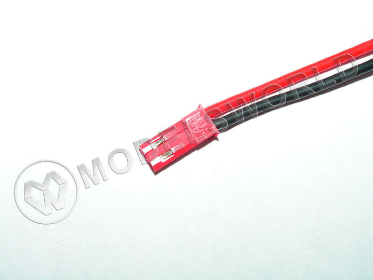 BEC connector with silikon wire JST male (pcs)
