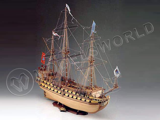 Набор для постройки модели корабля  MIRAGE французский корабль второй половины XVII в. Масштаб 1:75 - купить в интернет-магазине Мир Моделей