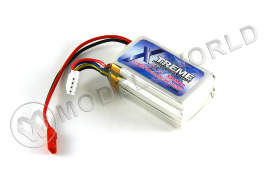 Аккумулятор Xtreme Li-Po 11.1V, 850mAh, 18-20c для Honey Bee, FP, CP2, Honey Bee King