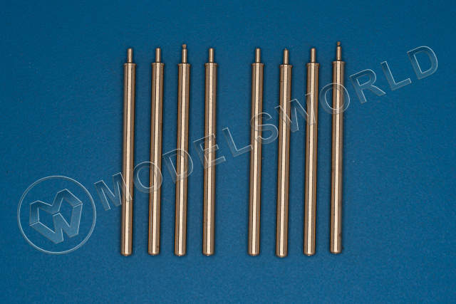 "Металлический ствол 0,5"" (12,7mm) barrels for Browning mg, Used on P-47 Thunderbolt. Масштаб 1:32"