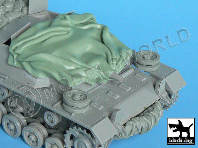 Canvas for Stug III C\D for Dragon 1:35.