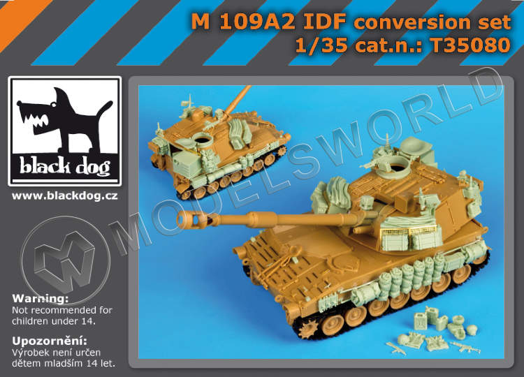 M109A2 IDF conversion set KINETIC 1:35.